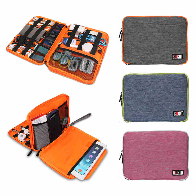 Brand Digital Accessories Storage Bag,Cable Organizer Case,Put Hard Drive Disk Cables USB Flash,Travel Case Bag Tablet Free Ship