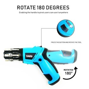 Image 3 - 6 In1 Mini 6V Battery Cordless Electric Screwdriver  Rotary Screw Driver With Work Light And 14 Bits For Household Maintenance