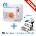 Alta qualidade máquina de selagem dentária Autoclave 23 Litros e selador venda em pacote