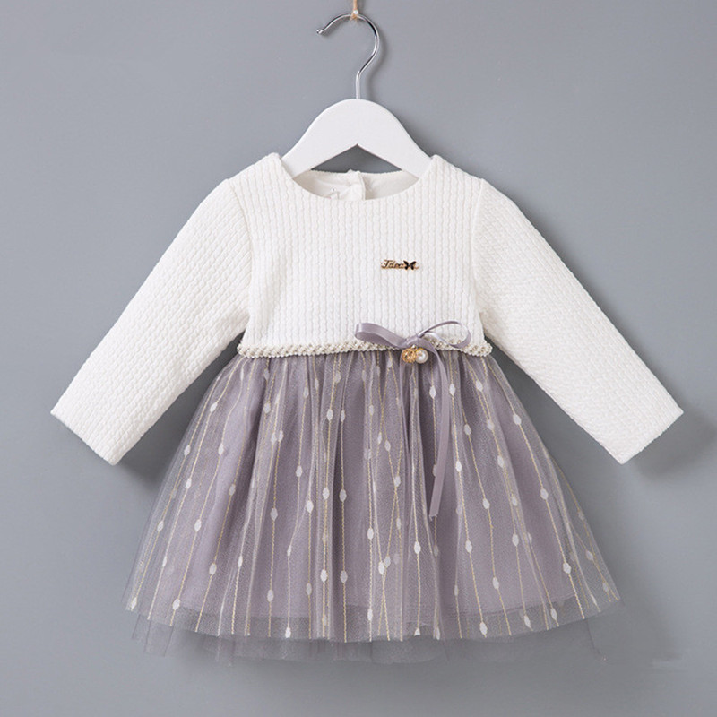 Toddler Girl Baptism Dress Baby Girl Birthday Dresses For Girls Kids Wedding Party Wear Newborn Baby Christening Gowns 0-2T