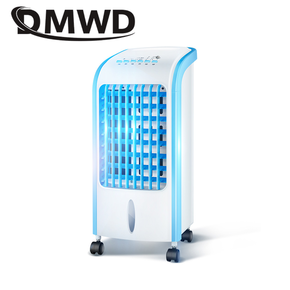 DMWD Strong Wind Air Conditioning Fan Electric conditioner Cooling Fans Household Cold Water-cooled Ventilator Cooler humidifier dmwd air conditioning fan water cooled chiller electric cooling fan remote timing cooler humidifier air conditioner fans eu us