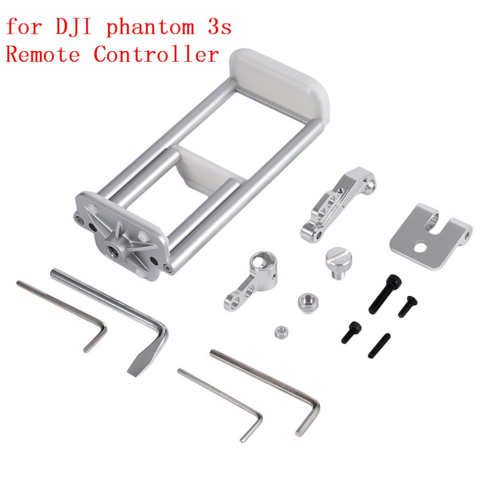 Tablet Flat Mount Holder Stretch Bracket Clip Compatible for Cellphone and IPAD for DJI Phantom 3S Standard Remote Controller in Drone Accessories Kits from Consumer Electronics