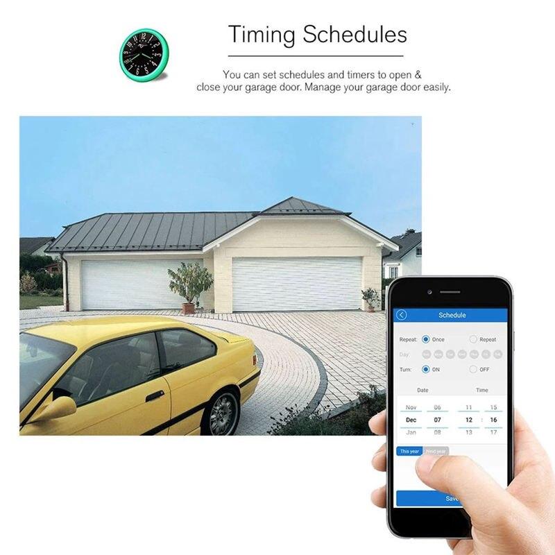 garagem app controle remoto sincronismo voz para alexa ir