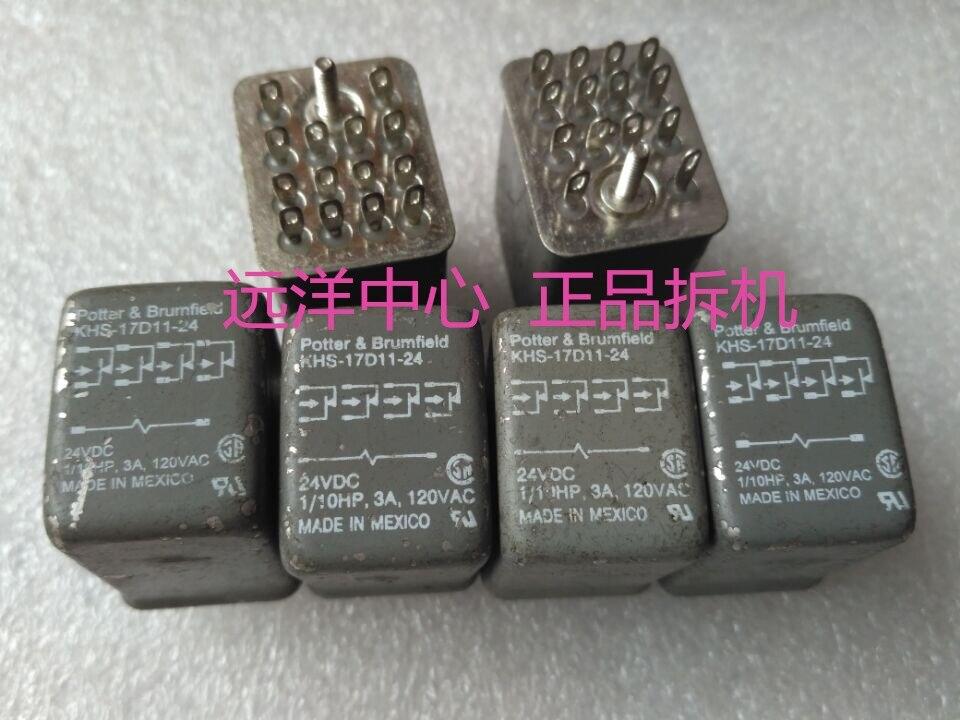 все цены на KHS-17D11-24 24VDC   3A 14 онлайн