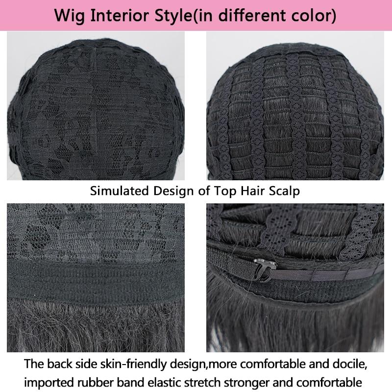 Image 5 - 【AniHut】Kamado Tanjirou Wig Kimetsu no Yaiba Demon Slayer Cosplay Hair Synthetic Heat Resistant Hair Kamado Tanjirou CosplayAnime Costumes   -