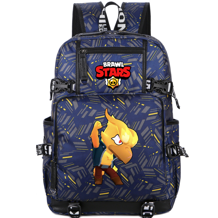 Schoolbag Laptop-Bags Bookbag Computer-Package Game Brawl Stars Women Around Girl Cartoon