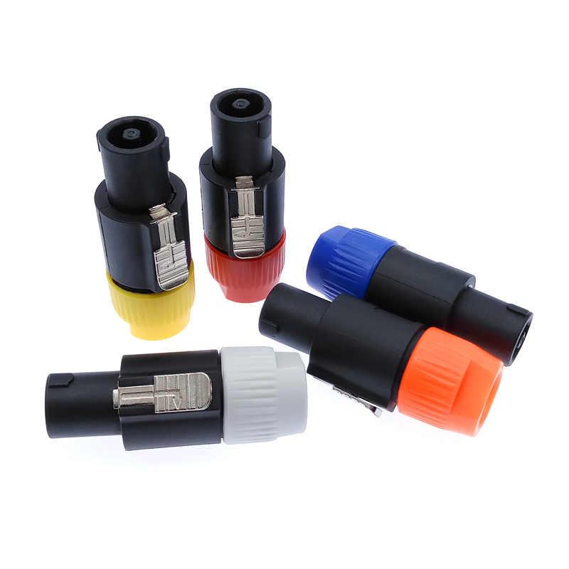 Złącza Speakon typ nl4fx 4 wtyczka biegunowa męskie złącze audio głośnika
