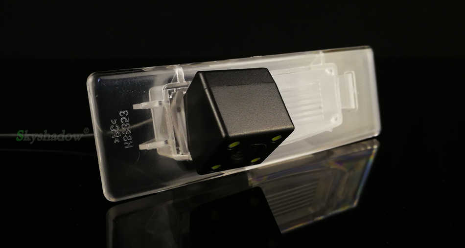 אלחוטי צג CCD HD עם נוריות ראיית לילה עבור 2015 Kia Sorento L יונדאי הסונטה 9 רכב אחורי תצוגת מצלמה היפוך פרק קיט