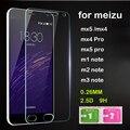 0.26mm 9 h filme protetor de tela premium de vidro temperado film para meizu m3 note/mx5/mx4/mx4 pro/mx5 pro/m1 nota película de proteção