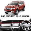 TAIJS правый руль приборной панели автомобиля защитный чехол для Ford Ranger 2015-2017 грязепроницаемый Авто приборной панели коврик для Ford Ranger