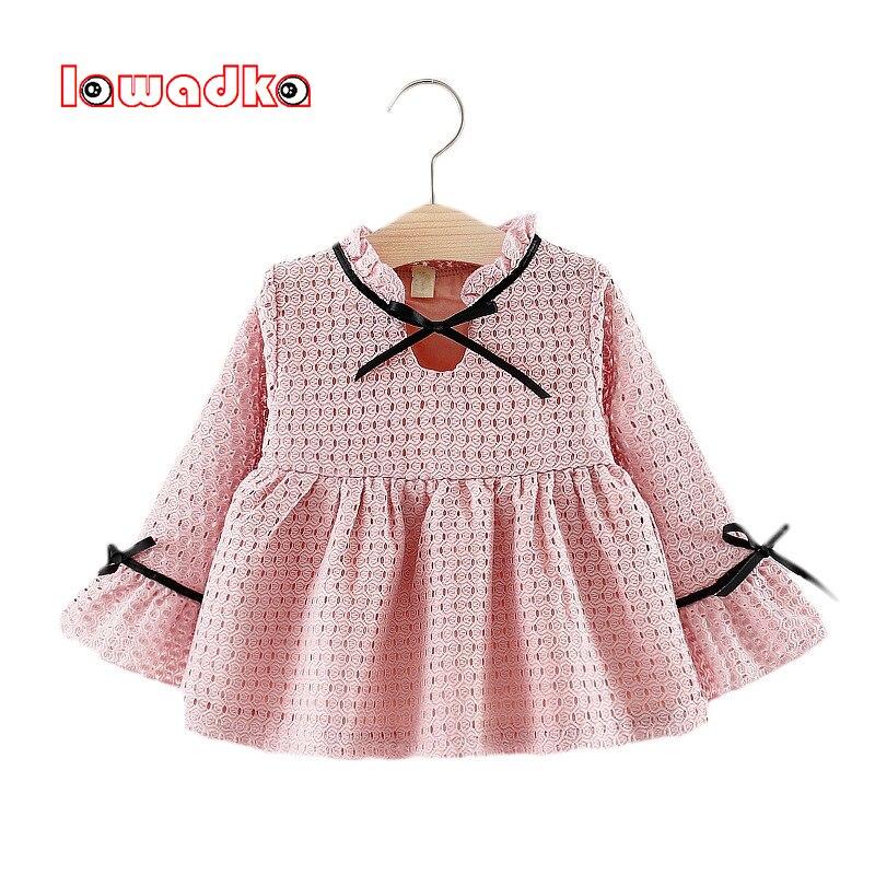 Детские платья с длинными рукавами для девочек, платье на крестины для маленьких девочек, Сетчатое платье vestido infantil, платье на 1 год вечерние ...