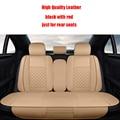 Asiento de coche de cuero cubre Para Hyundai IX25 IX35 Sonata Santa Fe Tucson Acento ELANTRA Verna I30 accesorios car styling