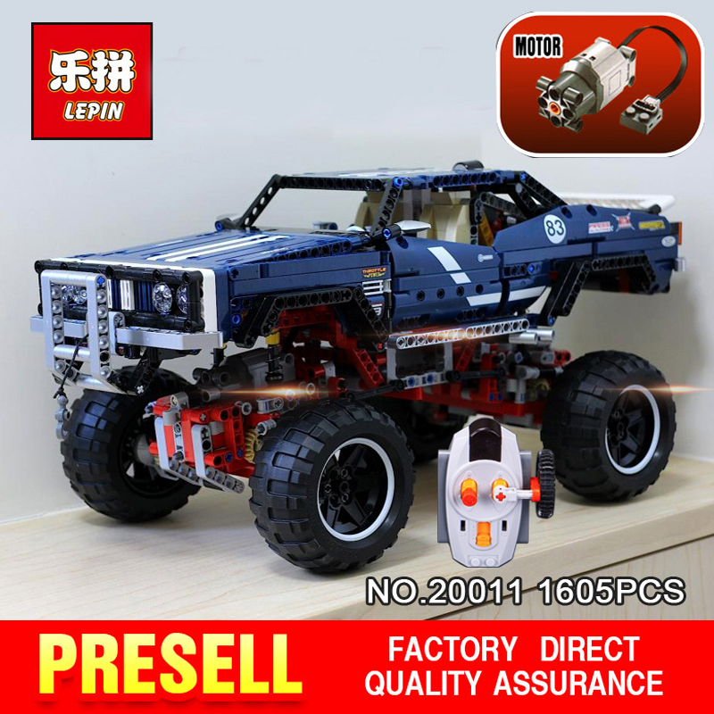 LEPIN 20011 1605Pcs the Technic series Super classic limited edition of off-road vehicles Model Building blocks Bricks Toy 41999 lepin 20011 technic series super classic limited edition of off road vehicles model building blocks bricks compatible 41999 gift