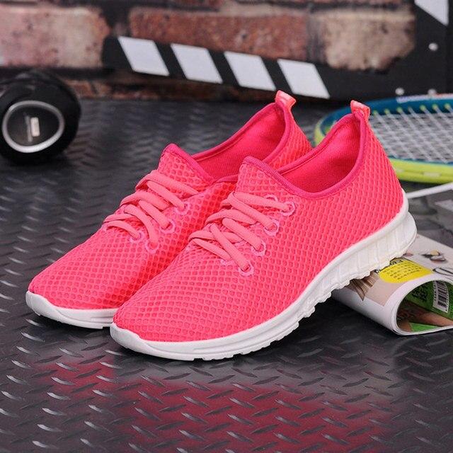 59b25ca9d 2017 novas Mulheres tênis de Corrida Super Leves Sapatos Femininos Calçados  Esportivos Antiderrapante Amortecimento Tênis para