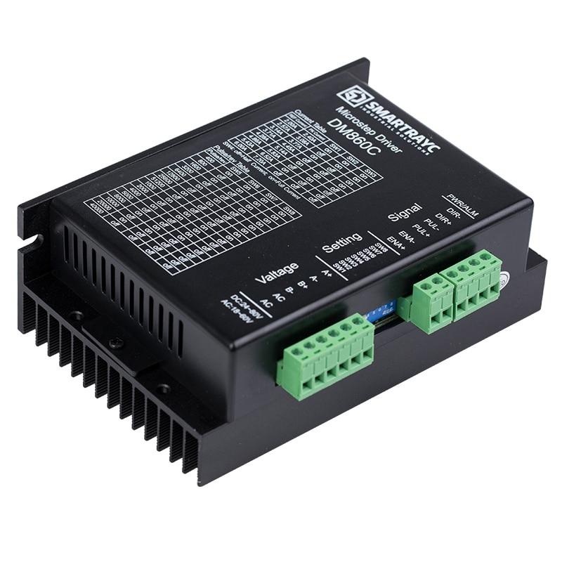Cloudray 2 phases moteur pas à pas NEMA 34 moteur 24V-80VDC ou VAC16-70VAC 6A CNC Micro-pas remplacer M542, 2M542 CE certificat