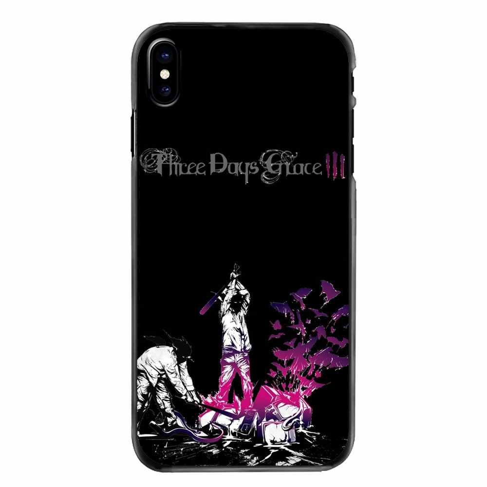 For Huawei P7 P8 P9 P10 Lite Plus 2017 2016 Honor 5C 6 4X 5X Mate 8 7 9 Covers Three Days Grace TDG 3DG HUMAN Album Rock Band