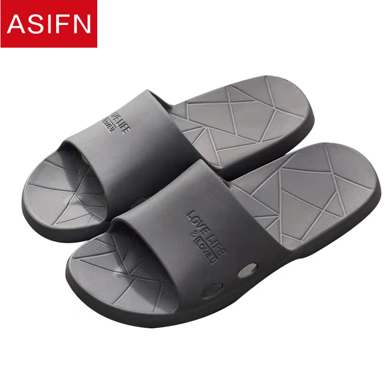 ee73a7322b42f ASIFN Men Slippers Casual Shoes Non-slip Male Slides Women Bathroom Slippers  Summer Sandals Soft