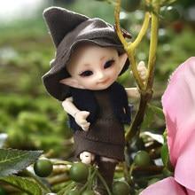 Recém chegados realpuki tyni fairyland boneca bjd 1/13 rosa sorriso elfos brinquedos presente articulação esférica livre olho e frete grátis