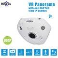 HD 960 P Wi-fi Câmera Panorâmica Fisheye de 360 Graus e-PTZ de Rede IP CCTV Câmera do telefone Remoto de áudio VR câmera