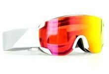 professional ski goggles Double lens anti-fog ski glasses skiing snowboarding snow goggles Ski Mask Red Frame red Lens