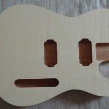 Новая готовая электрогитара корпус 1 шт Гитара DIY корпус