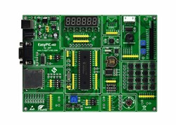 PIC MCU Learning Development Board EasyPIC-40 + PIC16F877A