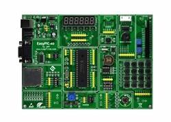 PIC MCU Leren Development Board EasyPIC-40 + PIC16F877A