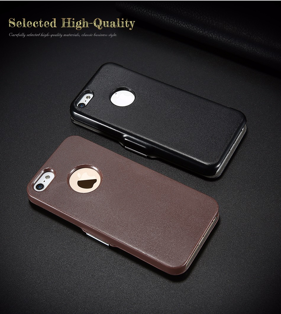 leather case for iPhone 5 6 (2)