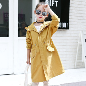 Image 3 - Spring Autumn Jacket For Girls Hoodies Coat Teenage Children Outerwear Girls Clothes Raincoat Windbreaker 4 6 8 10 12 14 15 Year