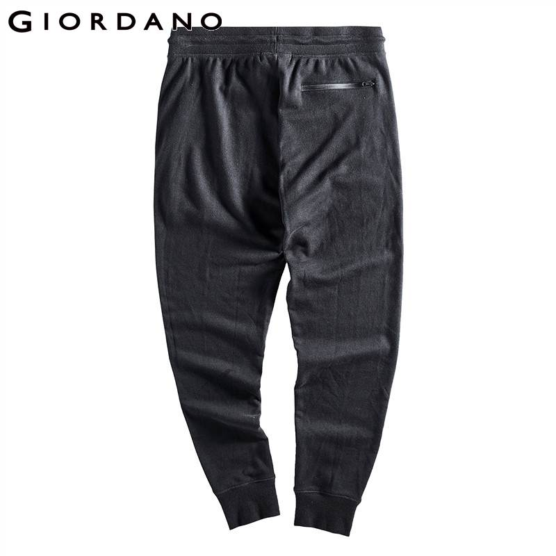 Giordano Men Joggers Pants French Terry Solid Color Jogger Pants Drawstring Banded Cuff Pantalon Hombre Casual Simple Streetwear Buy At The Price Of 26 60 In Aliexpress Com Imall Com