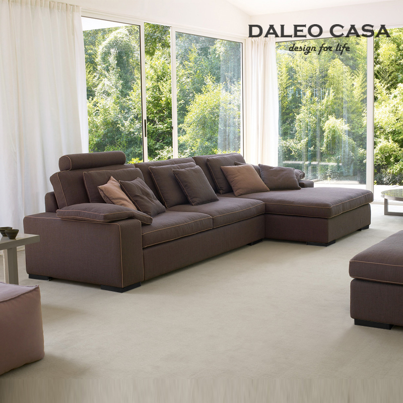 Daleo Casa Down L Shaped Sofa Corner Minimalist Scandinavian Style Modern Home Design In Milan Office Sofas From Furniture On Aliexpress