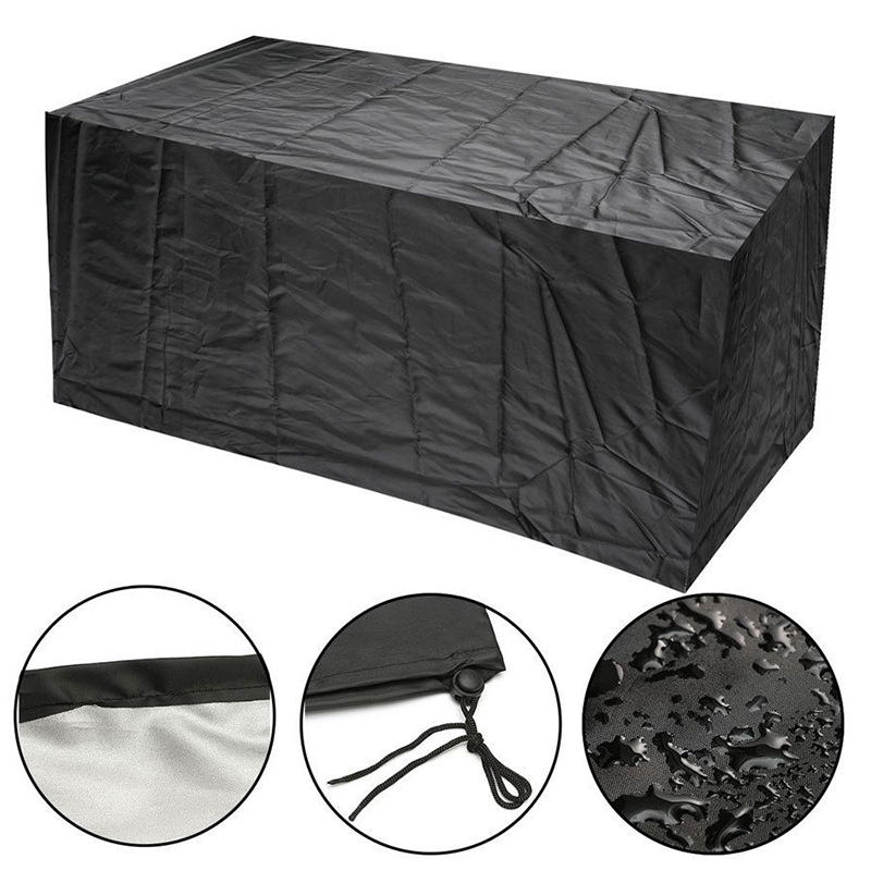 Home & Garden Expressive Rectangular Garden Patio Rain Dust Cover Outdoor Waterproof Sofa Table Chair Bench Furniture Cover J2y All-purpose Covers