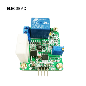 Image 3 - WCS1800 Hall Current Sensor Module DC AC Detection Module 30A Serial Output Overcurrent Protection
