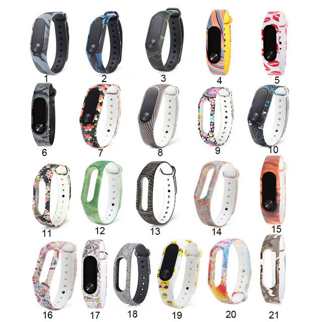 New individuation Protective Replacement Watch Strap to Replace color For Xiaomi Mi 2 band  Millet Bracelet Wristbands LL