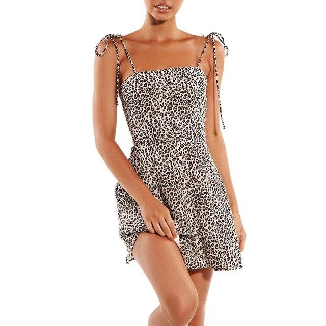 Ladies Open Leopard Splice...