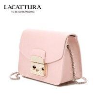 Women Real Leather Handbags Messenger Bags Fashion Lock Small Flap Shoulder Bag Ladies Mini Crossbody Bags