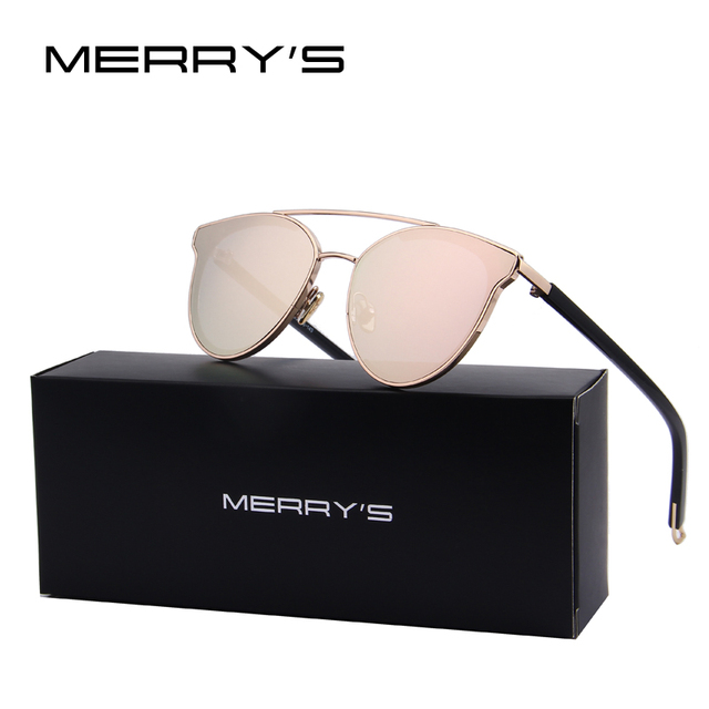 Merry's moda cat eye sunglasses mulheres marca de luxo designer óculos de sol para as mulheres oculos feminino uv400 s'8085