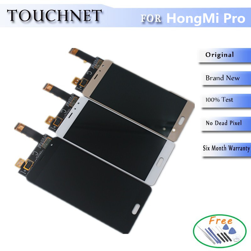 ФОТО 3Colors  Available LCD Screen With Digitizer Touch Screen Assembly For HongMi /Red Mi/XiaoMi Pro Smartphone