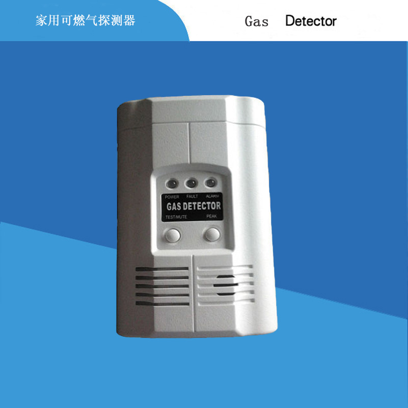 AC 220v Powered Gas Alarm lpg Gas detector LPG Gas Alarm home alarm home safe golden security lpg detector wireless digital led display combustible gas detector for home alarm system
