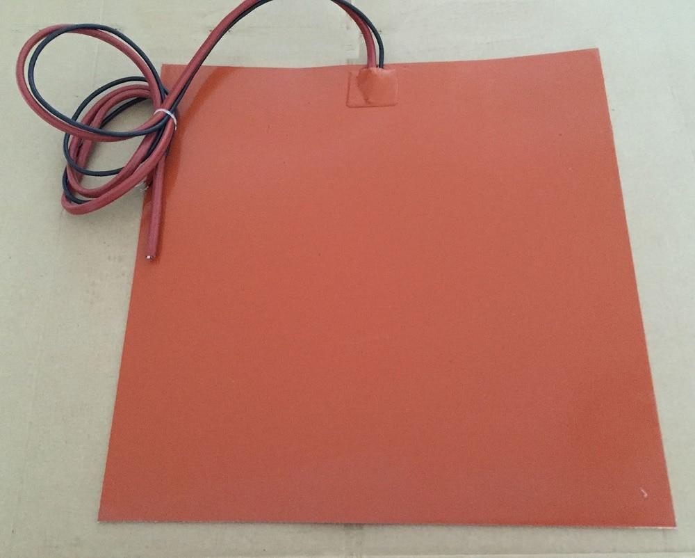 Silicone riscaldatore letto/pad riscaldamento pad 12x12 230v350w silicone element oil heater heating pad молокоотсос 4354 pad pad isis