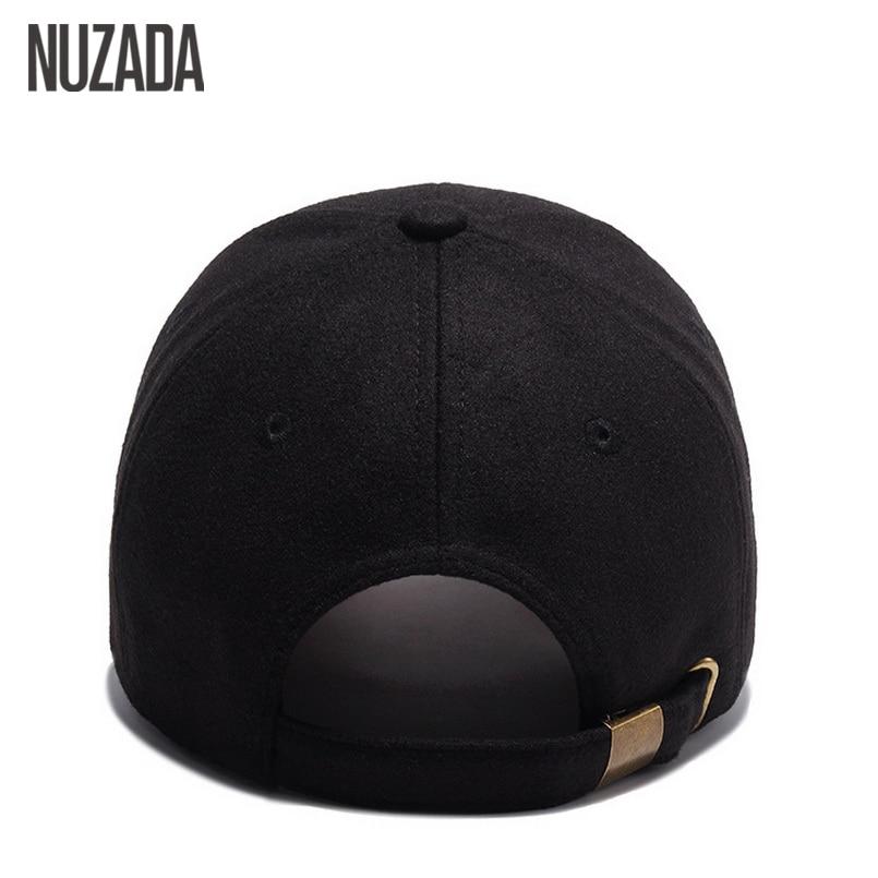 Märke NUZADA Högkvalitets Snapback Ull 54% Kvinnor Män Baseball - Kläder tillbehör - Foto 6