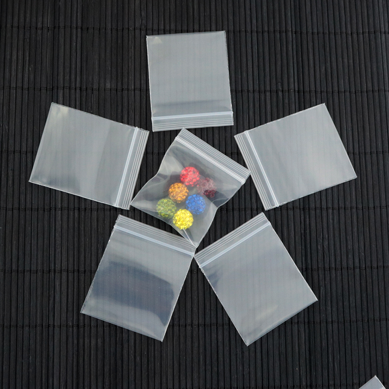100pcs lot small 5cm 6cm clear zip lock resealable ziplock grip seal plastic retail package bag. Black Bedroom Furniture Sets. Home Design Ideas