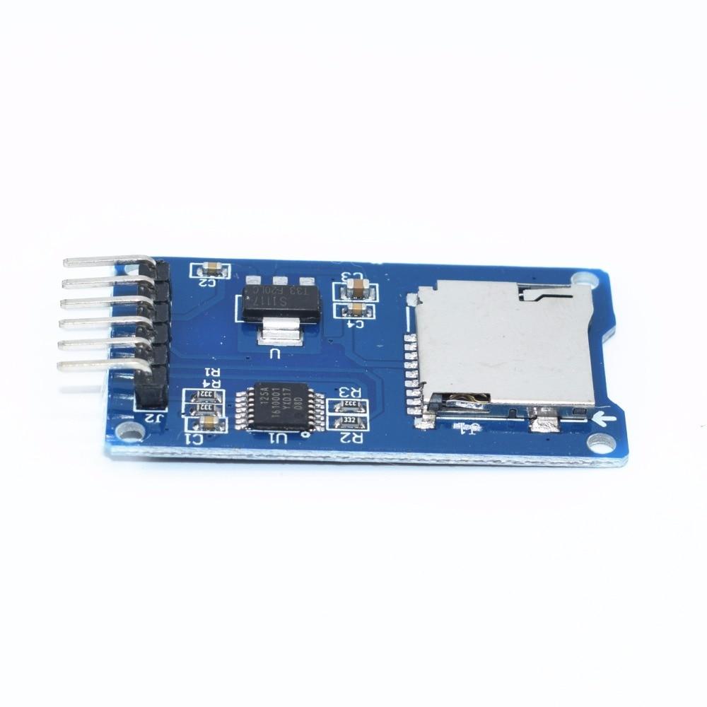 5 шт. SPI Micro SD для хранения Mciro SD карты памяти TF Щит Модуль
