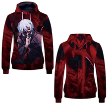 Fans Wear 2019 Unisex Hoodies for Anime Tokyo Ghouls 3D Print Pullover Sweatshirts Ghoul Harajuku Hip Hop Men Women