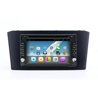 2 Din Android 4 4 Quad Core Universal Car Radio DVD GPS Navi For Toyota Avensis