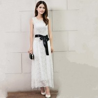 Ladies Banquet Evening Dress Women Slim Long Design Formal Dress Evening Dress Sexy One Piece Dress