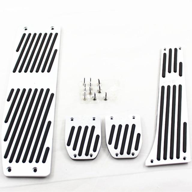 Car Accessory Aluminum Footrest M Pedal Pad Set For BMW X1 E30 E36 E46 E90 E87 E92 E93 car-styling