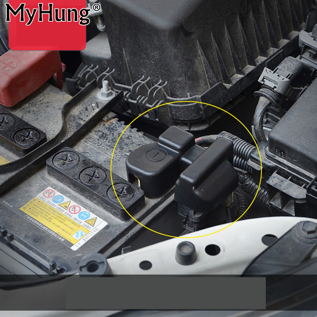 Toyota Corolla Battery >> Us 6 97 14 Off Car Battery Negative Protection Waterproof Cover Frame Clip Case Abs Plastic For Toyota Corolla Levin 2014 2015 2016 1pc In