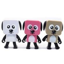 цена на Cute Portable Smart Dancing Robot Wireless Bluetooth Speaker Dancing Robot Music Dog