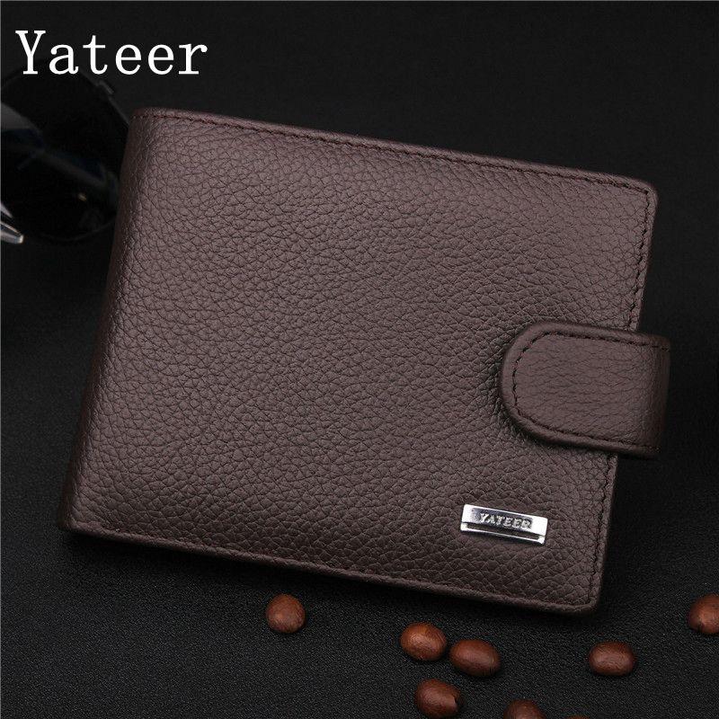 Yateer vysoce kvalitní PU materiál tisk pruhované litchi - Peněženky